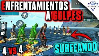 ÉPICA BATALLA DE GOLPES SURFEANDO ●FREE FIRE●