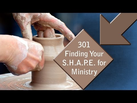 C.L.A.S.S. 301 - Discover Your Shape for Ministry - Crosspoint Church