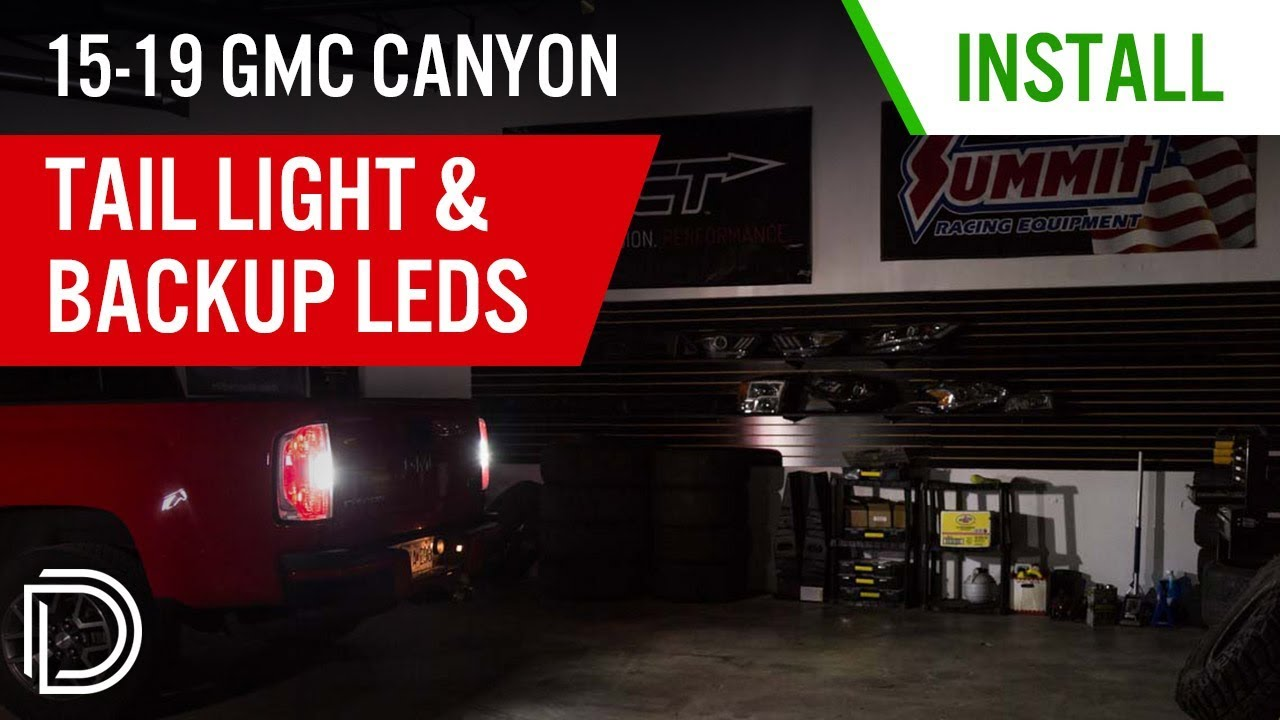 [DIAGRAM_3US]  How to Install 2015-2019 GMC Canyon Tail Light & Backup LEDs | Diode  Dynamics - YouTube | 2016 Gmc Canyon Tail Light Wiring Diagram |  | YouTube