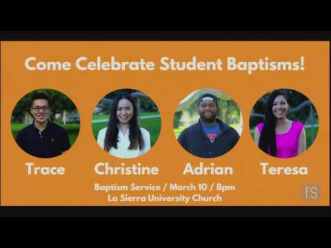 First Service Baptism 3.10.17