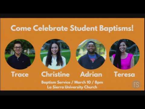 First Service Baptism 3.10.17