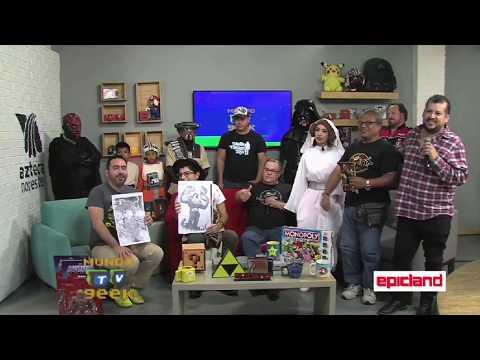 The Toy Machine Monterrey, en Mundo Geek TV, HD720p, 8/09/2017