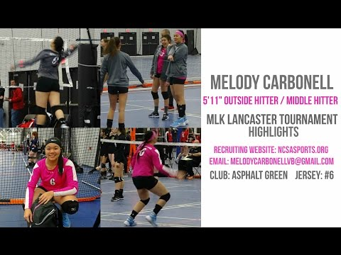 """melody-ko-carbonell---5'11""""-oh-/-mh---lancaster-tournament---volleyball-recruiting-video"""