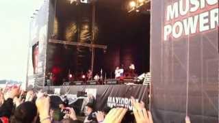 (HD) Linkin Park (Maxidrom 2012) Концерт в Тушино 10 июня 2012 года