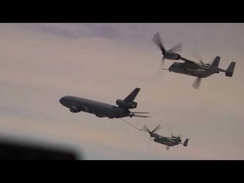 DFN: VMM 268 Aerial Refueling, MARINE CORPS BASE HAWAII, HI, UNITED STATES, 02.24.2018