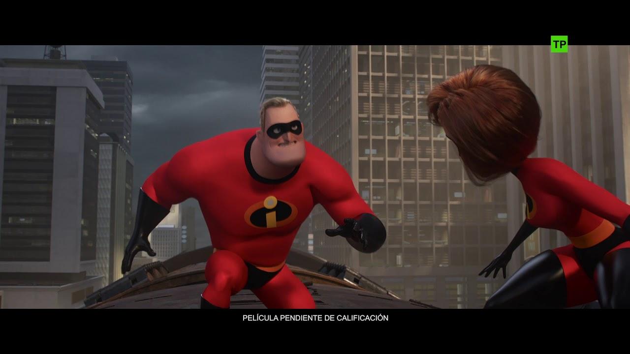 Los Increíbles 2 De Disneypixar Escena El Socavador Ha Escapado Hd