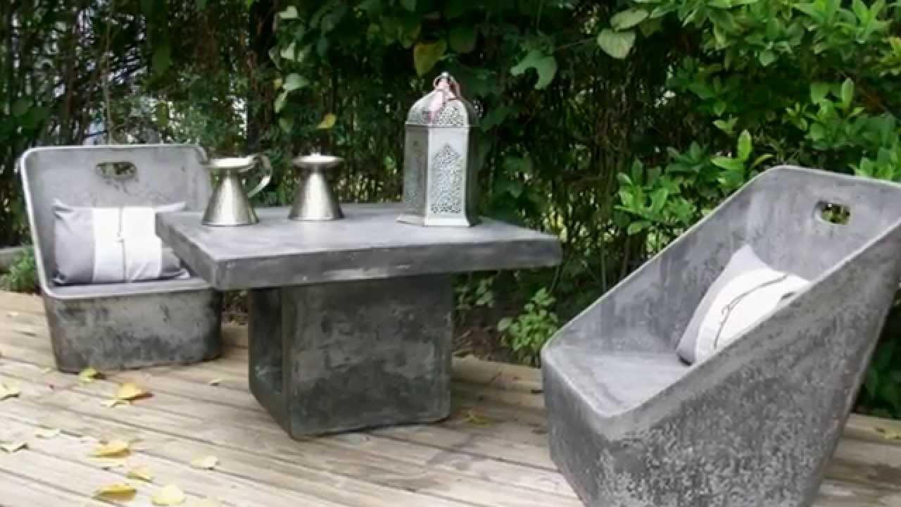 estilo ribera muebles en cemento livianos guillermo