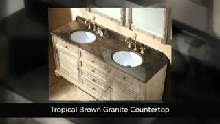 James Martin Savannah Bathroom Vanities, 100% Solid Wood - Homethangs.com