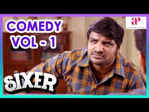 Sixer Movie Comedy Scenes   Part 1   Vaibhav Reddy   Sathish   Pallak Lalwani   Radha Ravi   Chaams