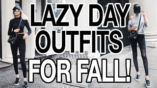 FALL TRENDS 2016- 5 LAZY DAY FALL OUTFITS!