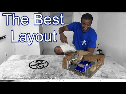 How To Best Layout Your Workshop And Organizing Your Tools #071