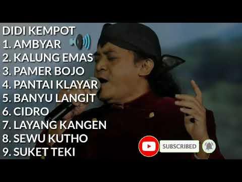 Didi Kempot Ambyar Kumpulan Lagu Didi Kempot Youtube