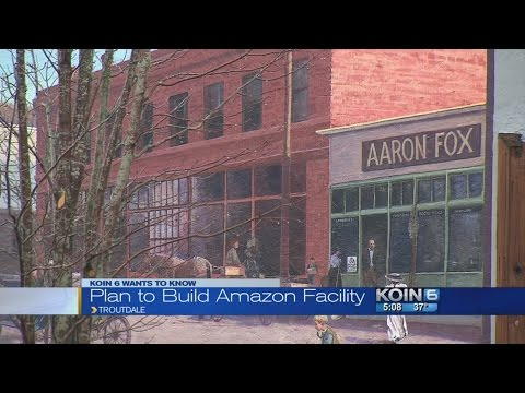 Amazon facility coming to Troutdale