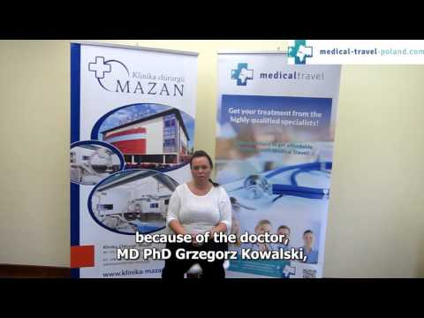 Gastric sleeve in Poland with Medical Travel Poland, Liliana from Sweden