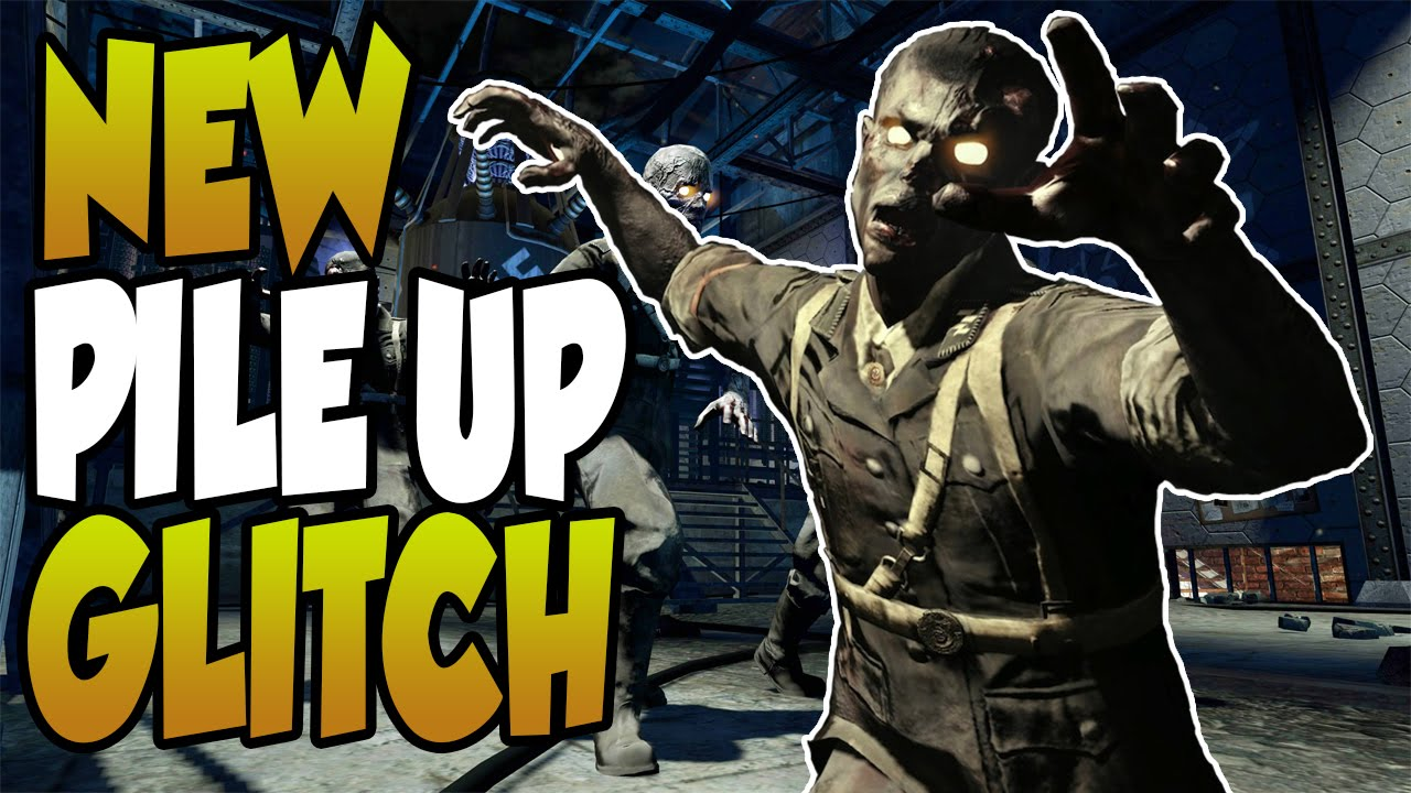 COD AW Zombies Glitches NEW Secret Room Pile Up Glitch