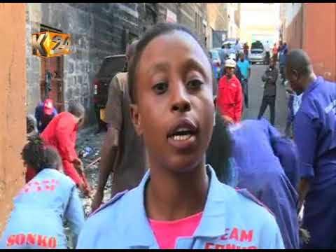 Exercise to clean Nairobi City of campaign posters continues