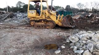 455 G John Deere track loader
