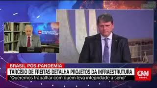 JAIR BOLSONARO - Ministro Capitão Tarcísio de Freitas: rompemos com uma trajetória de fracasso