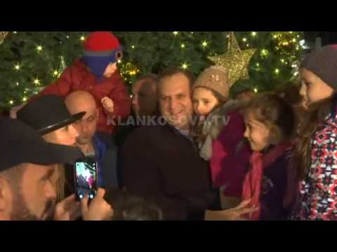Ndizen dritat festive në kryeqytet  -11.12.2017 - Klan Kosova