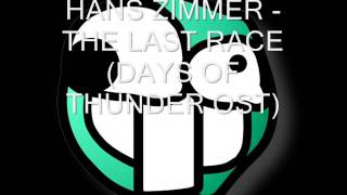 Hans zimmer   The last race days of thunder ost