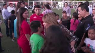Gobernadora entrega parque en la Nuevo Hermosillo