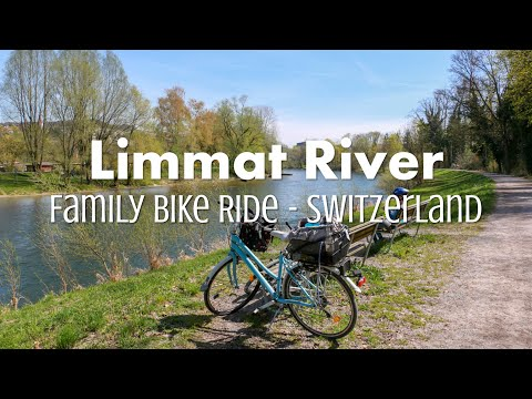 Bike ride along Zürich Limmat river (2018)