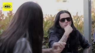 Under the Blade: Gus G. Videos από: Lucifer, Mastodon, W.E.T (TV War 21/5/18