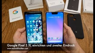 google pixel 3 xl unboxing deutsch