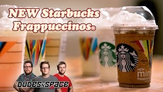 6 New Starbucks Frappuccinos - Dudes N Space Reviews The New Flavors
