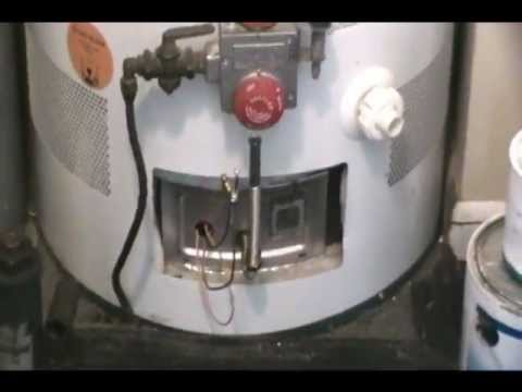How to fix water heater, will not stay lit - sealed combustion no hot water
