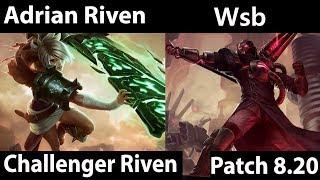 [ Adrian Riven ] Riven vs Viktor [ Wsb ] Top - Adrian Riven Gameplay