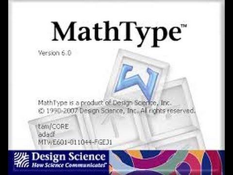Hướng dẫn cài đặt và sử dụng phần mềm Mathtype 6 9