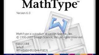 Hướng dẫn cài đặt và sử dụng phần mềm Mathtype 6.9