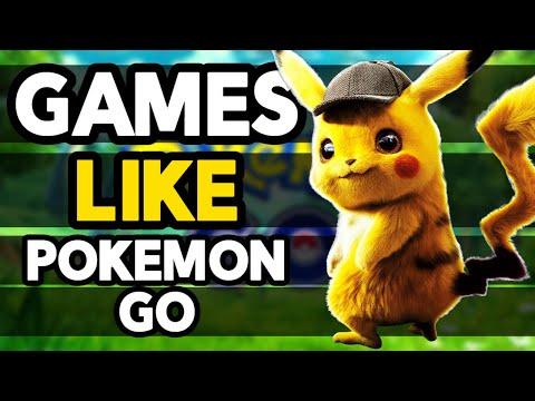Top 10 Games Like Pokemon GO for mobile