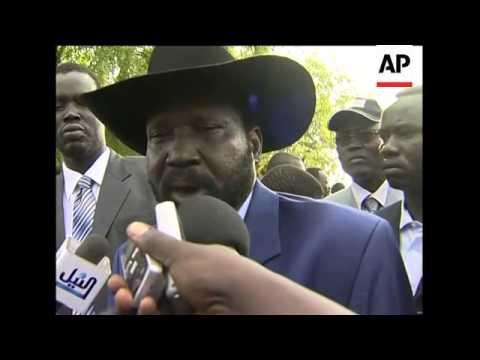 WRAP Al-Bashir, southern leader vote; Darfur voting