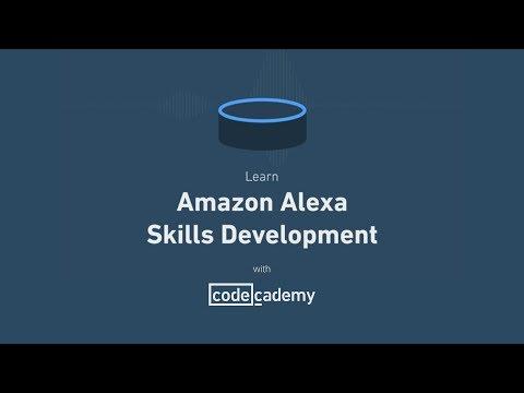 Learn Amazon Alexa Skills Development with Codecademy
