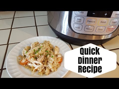 All in one Instant Pot Recipe || Chicken & Brown Rice