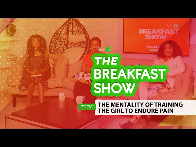THE MENTALITY OF TRAINING THE GIRL TO ENDURE PAIN