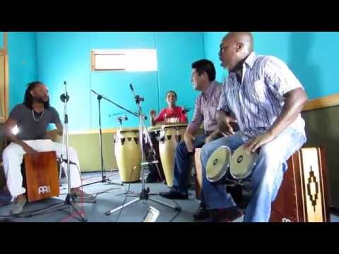 Afro-Peruvian Percussion Performance with Congas, Bongos and Cajons