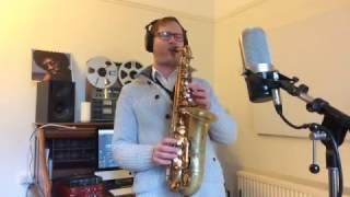 Funk Alto Sax Solo (Selmer Reference 54 Alto Saxophone)