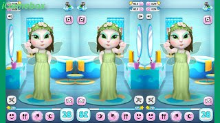 My talking Angela Mirroring level 28 Gameplay great makeover for Kid. Ep.18