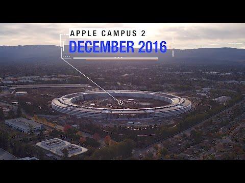 APPLE CAMPUS 2: December 2016 Extended Aerial Update