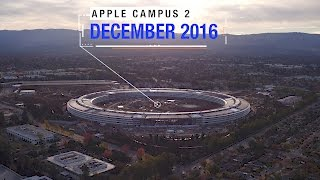 APPLE CAMPUS 2: December 2016 Extended Aerial Update