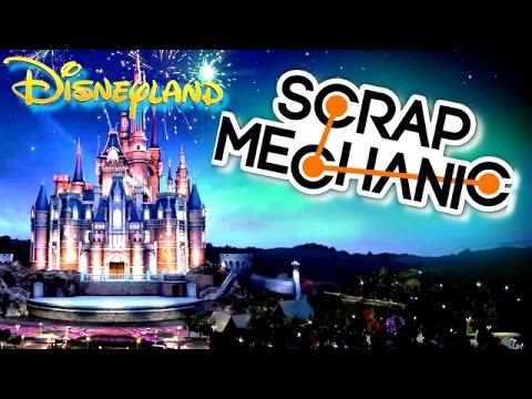 SCRAP MECHANIC DISNEYLAND + TROLL