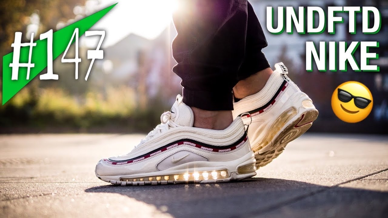 #147 UNDFTD x Nike Air Max 97 White Reviewon feet sneakerkult