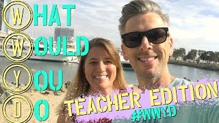 Teachers putting you down or stealing your ideas? | #WWYD | Teacher Edition