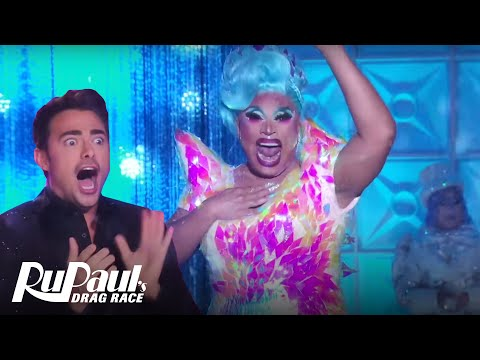 "Brita & Aiden Zhane's ""Let It Go"" Lip Sync | S12 E6 | RuPaul's Drag Race"