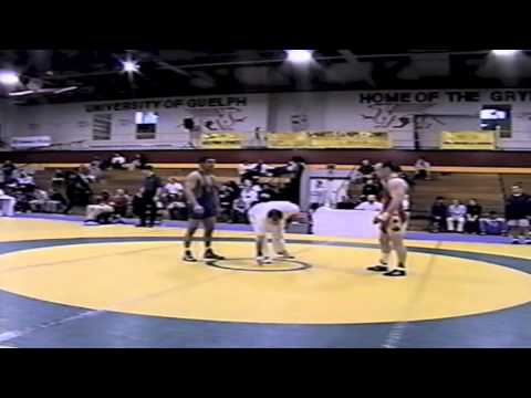 2002 Senior Greco National Championships: 60 kg Ron Boucher vs. Farhan Farugui