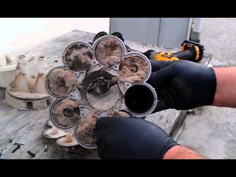 Dyson DC17 Animal Clogged Root Cyclones