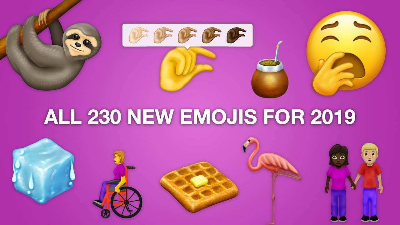 First Look All 230 New Emojis For 2019 Youtube
